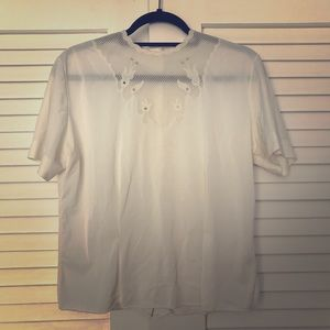 Tops - VINTAGE White Blouse